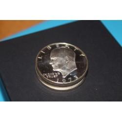 "Eisenhower ""Ike"" Dollar Coin Stack"