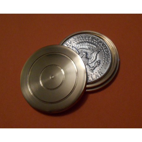 Classic Brass Coin Prediction Casket