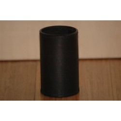 1/2 Dollar Size All Leather Coin Cylinder