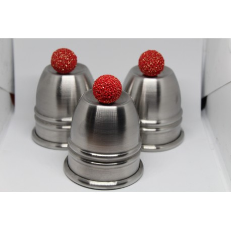 Paul Fox Cups & Balls in Stainless Steel