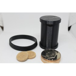 Delrin Coin Cylinder Set Dollar Size