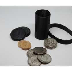Hobo Skull Half Dollar Cylinder & Coins