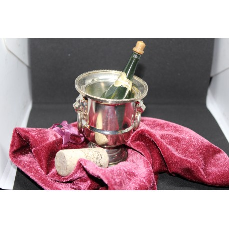 Silver Champagne Chop Cup