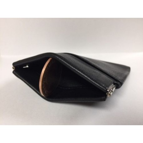 All Leather Snap Coin Purse