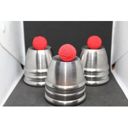 Foxy Plus Stainless Steel CNC Cups & Balls