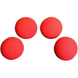 """Goshman 2"""" Super Soft Sponge Balls (4)"""