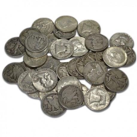 Soft 90% Silver Half Dollars