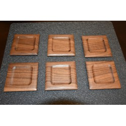 Walnut Multiplying Coin Tray
