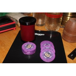 Ramsay Style Casino Cylinder and Chips $500