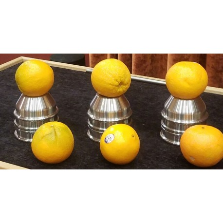 Stainless Steel 1000-G Cups & Balls