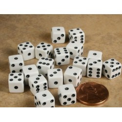 Miniature Dice for Ramsay Casino Chips