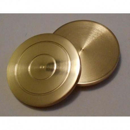 Brass Coin Casket New Casket Only replacement