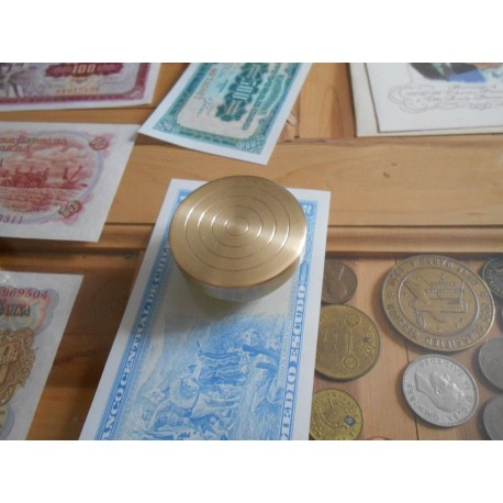 Silver Dollar Size Billet Box