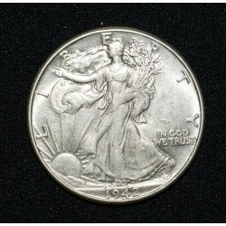 Two Headed Walking Liberty Half