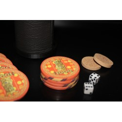 Ramsay Style Casino Chip Stack