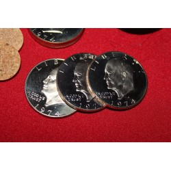3 Coin Eisenhower Ramsay Stack