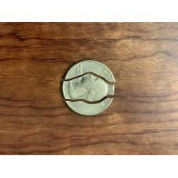 Folding Quarter by MJJ Magic Mfg.