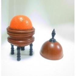 Deluxe Orange Vase