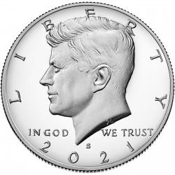 2021 Kennedy Half Dollar Uncirculated