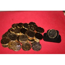 24kt Gold Plated Kennedy Half Dollar