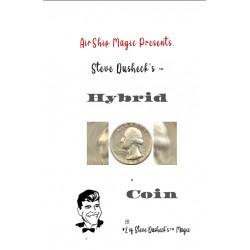 Steve Dusheck's  The Hybrid Coin Half Dollar Version