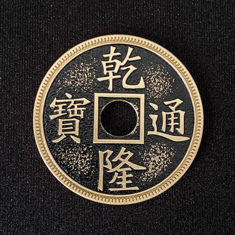 Quality Brass Chinese Coin 1/2 Dollar Size