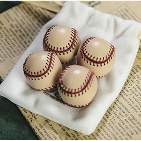 TCC Leather Base Ball Set