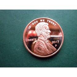 Jumbo .999 Fine Copper Penny