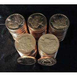 Jumbo .999 Fine Copper Morgan Dollar Coin