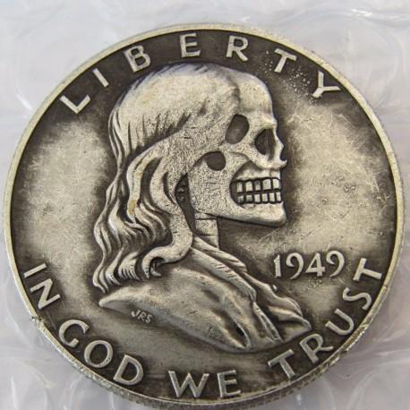 Hobo Ben Franklin Half Dollar