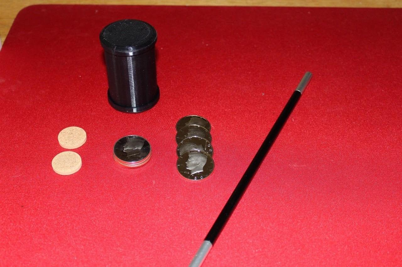 Delrin Cyllinder  & Coins